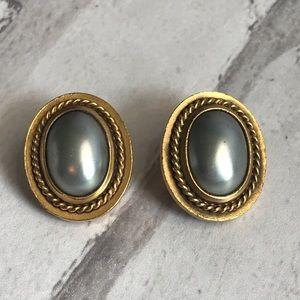 Yves Saint Laurent Vintage Clip On Earrings
